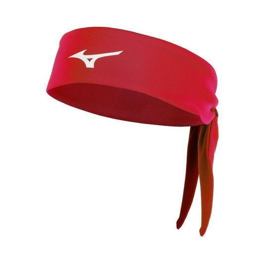 480206 Knotted Headband Mizuno Red