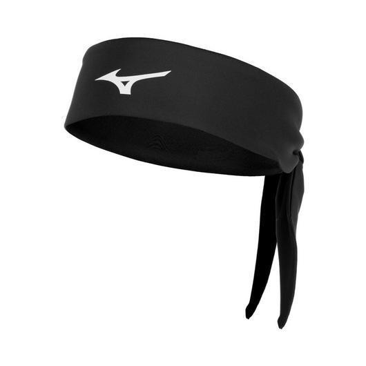 480206 Knotted Headband Mizuno Black