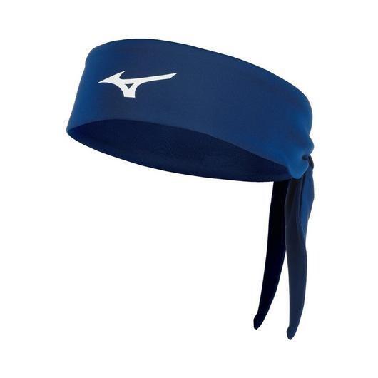 480206 Knotted Headband Mizuno Navy