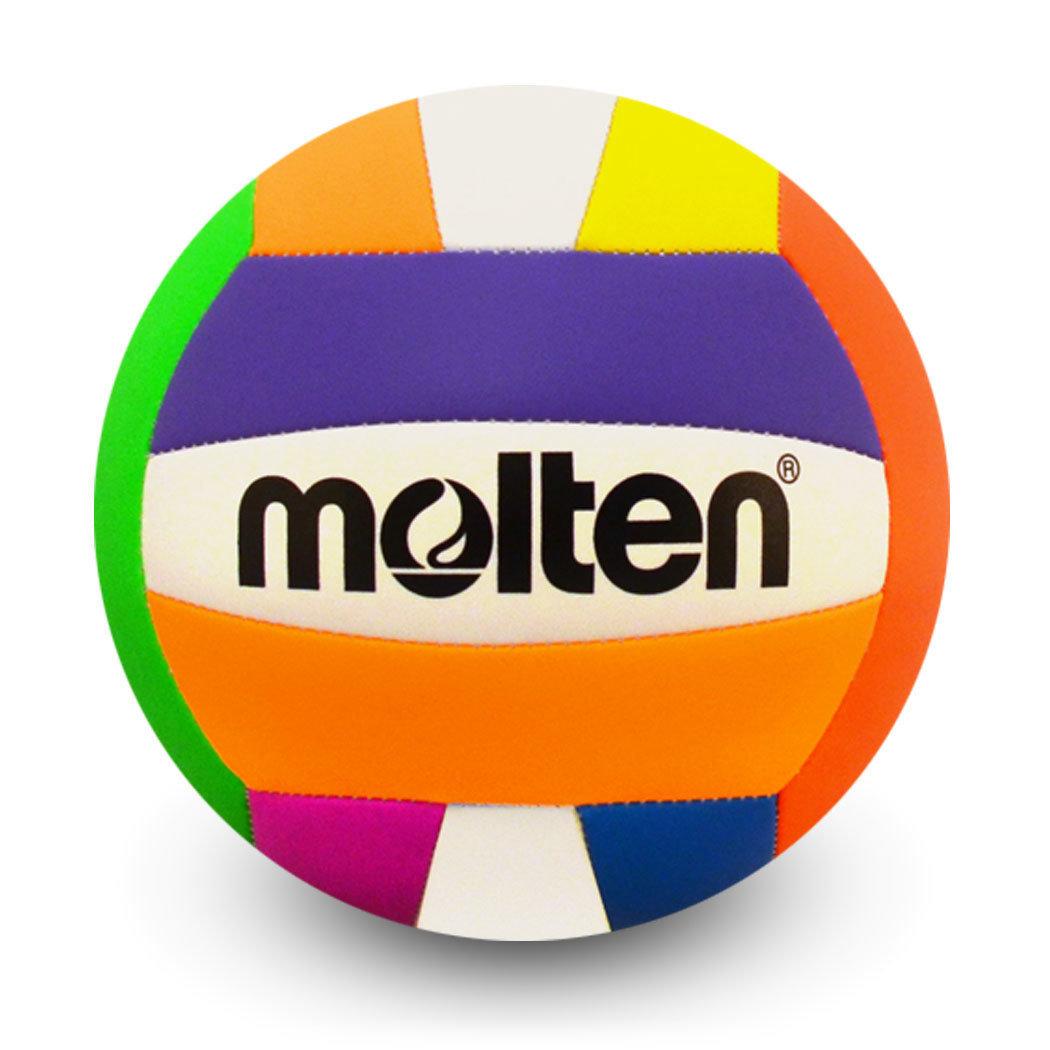 MS500 Molten Rec Volleyball Neon