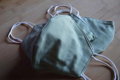 Green (Handmade Face Mask)