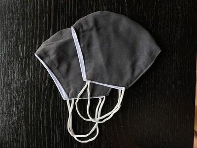 Grey Mask (Handmade Face Mask)