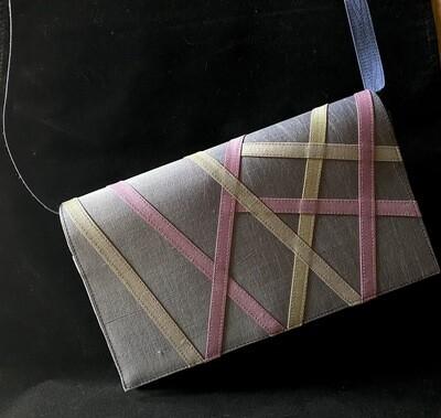 Cross Body Silk Purse (Removal Strap)