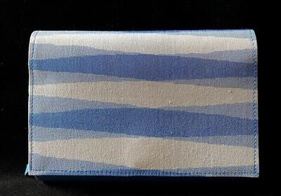Blue Ikat Purse (Removal Strap)