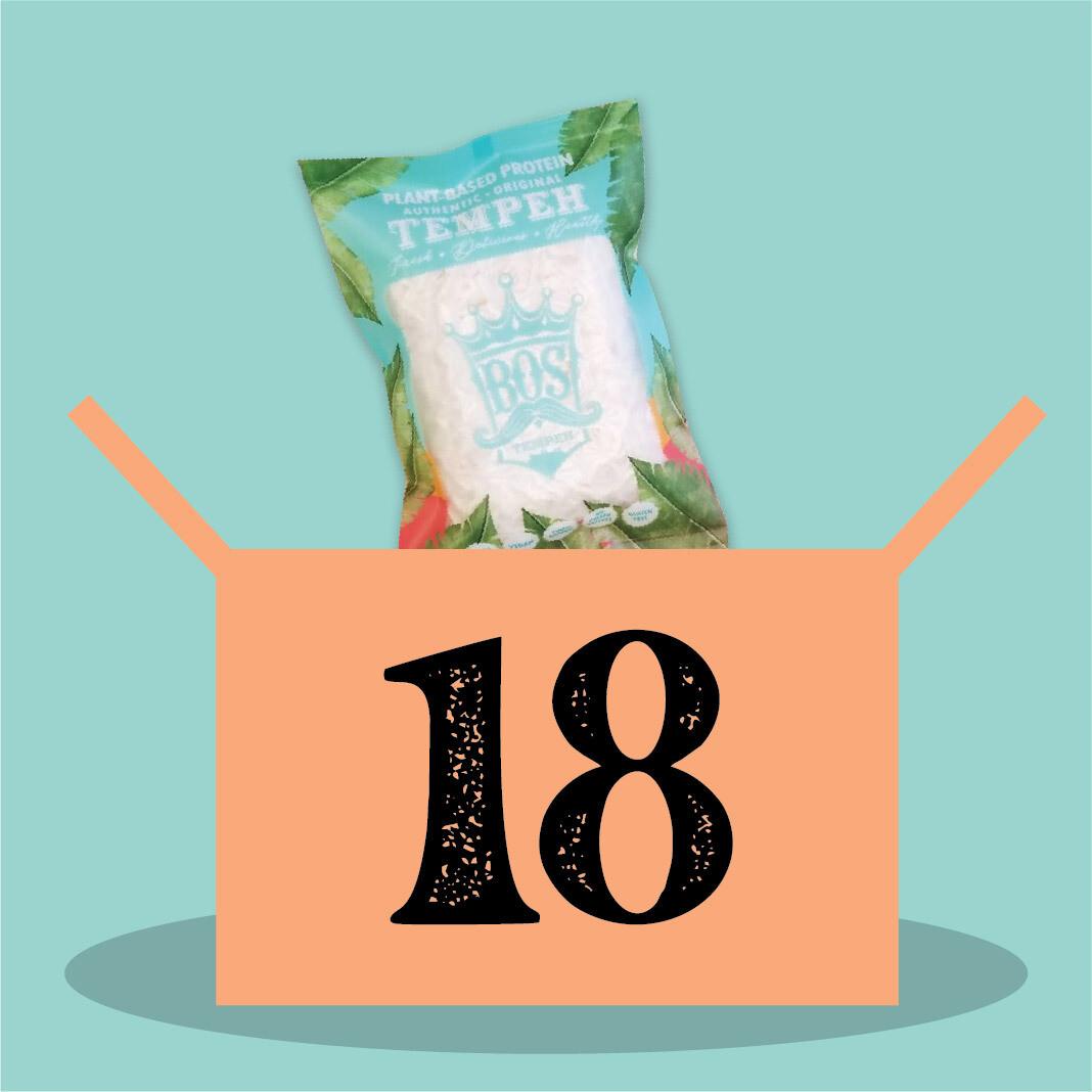 18 packs of BOStempeh