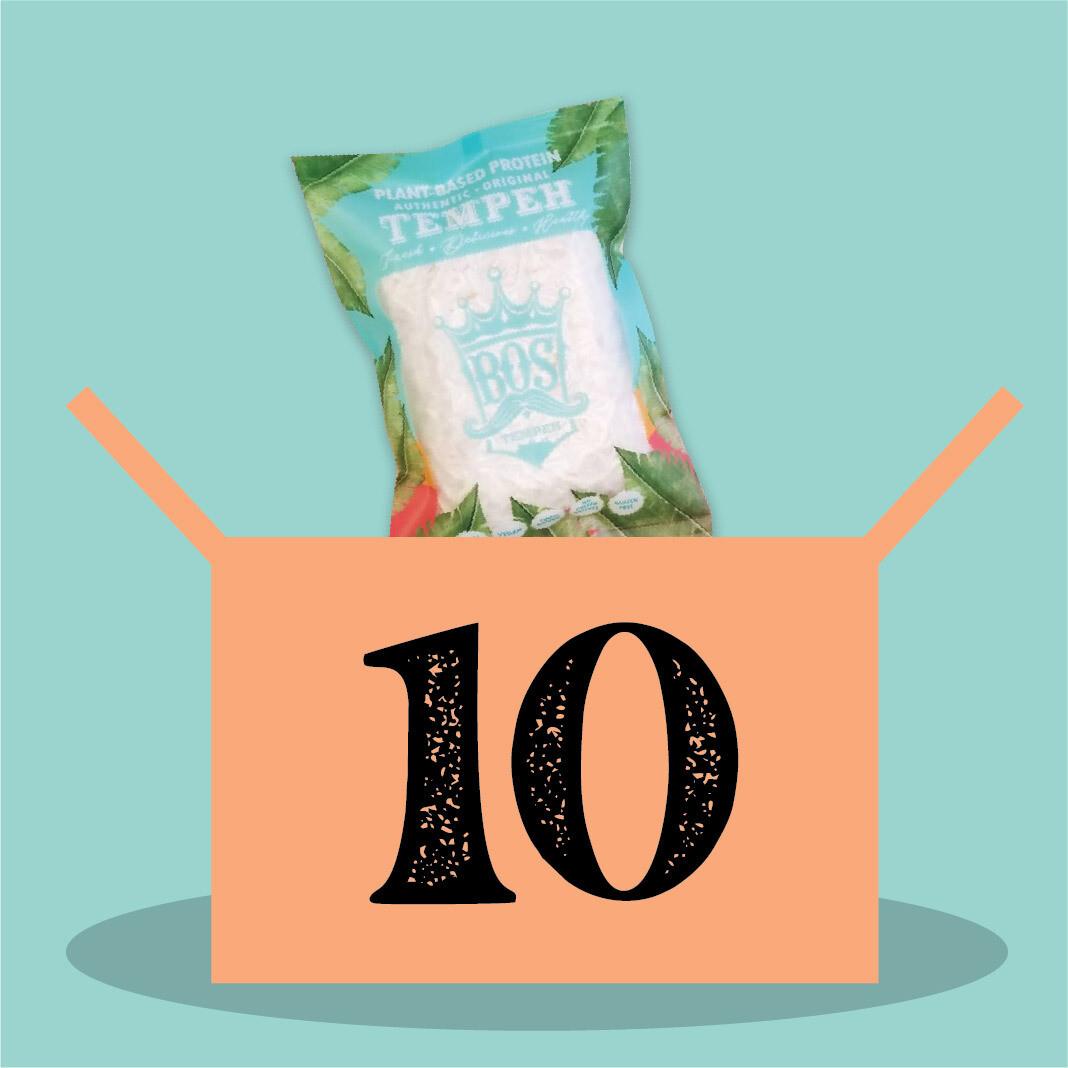 10 packs of BOStempeh