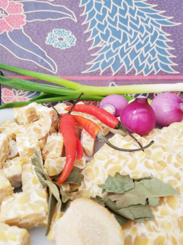 Tempe / Tempeh Fresh Vegan (Authentic taste Indonesian Tempeh) 200grams