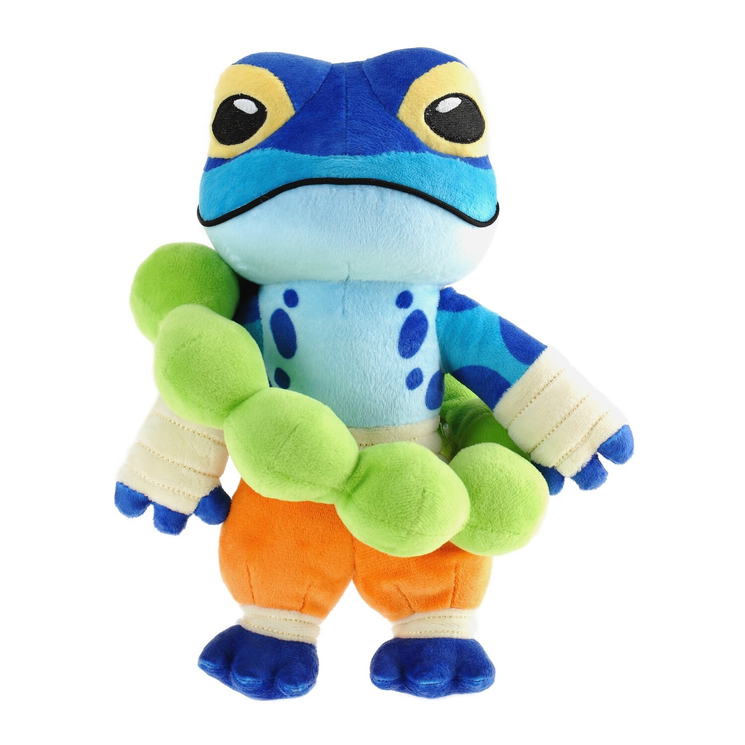 Rivals of Aether: Ranno Plush and Pin with Golden Skin Code