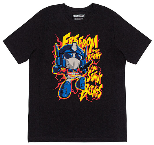 Transformers: Optimus Prime Freedom Shirt