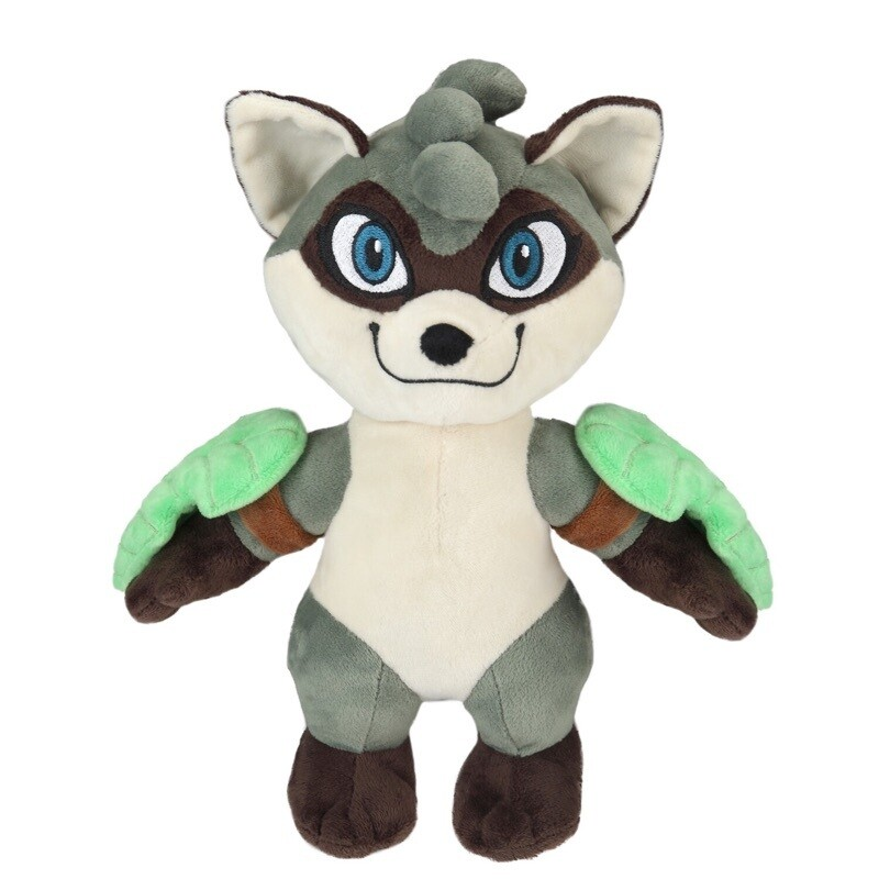 Rivals of Aether: Maypul Plush and Pin with Golden Skin Code