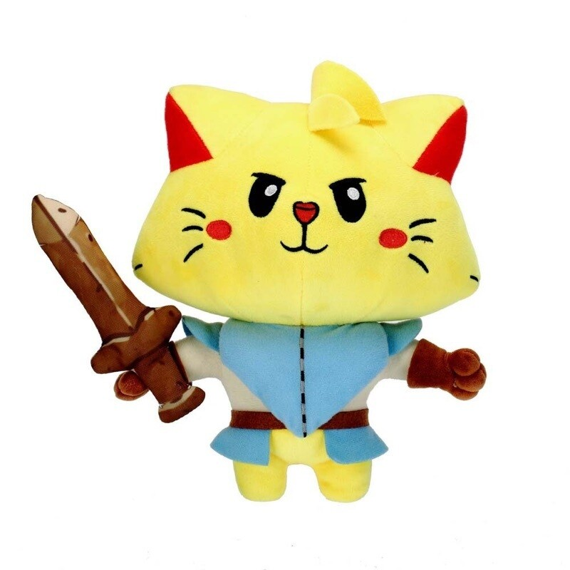 Cat Quest Hero Plush and Pin