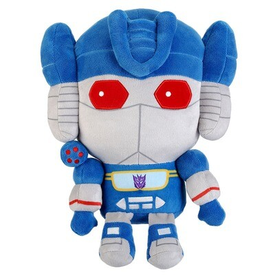 Transformers: Soundwave Plush and Pin