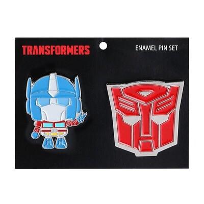 Transformers: Optimus Prime Enamel Pin Set