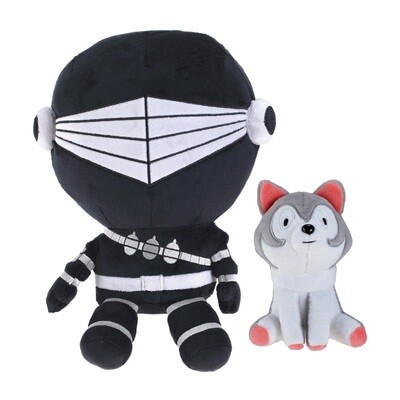 G.I. Joe Snake Eyes and Timber Plush
