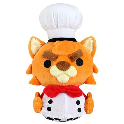 Overcooked Cat Chef Plush and Pin