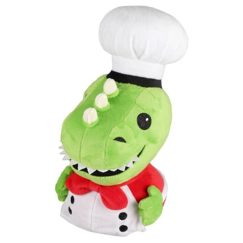 Overcooked Dino Chef Plush and Pin