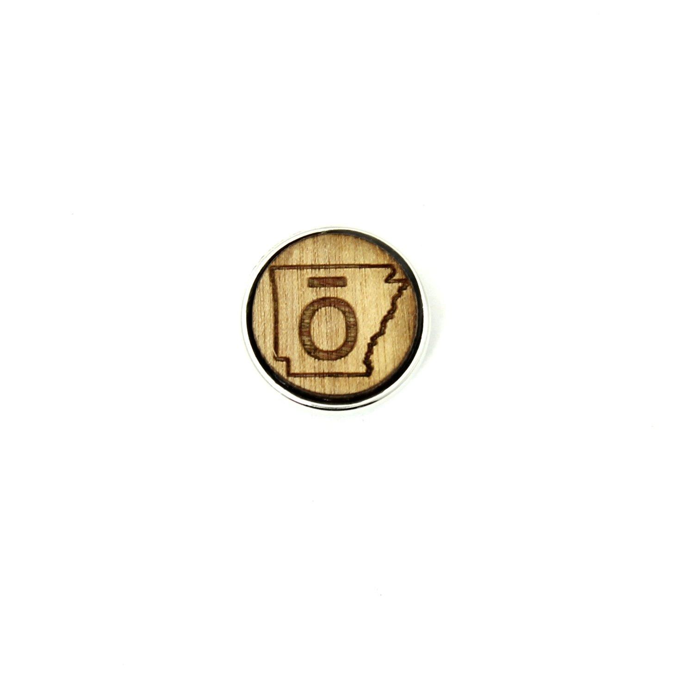 ō - Arkansas- Diffusing Locket Wood Snap