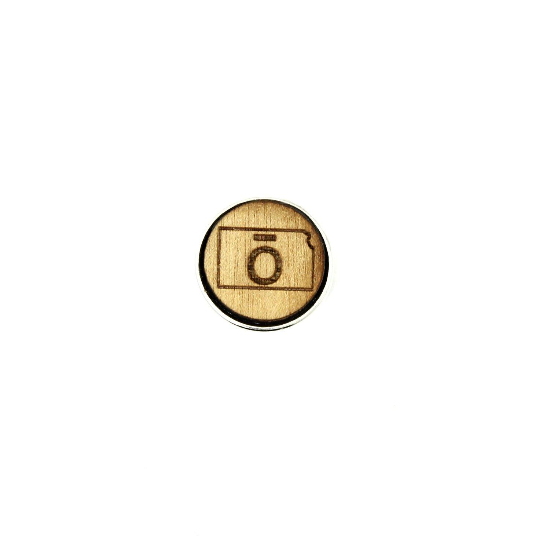 ō - Kansas - Diffusing Locket Wood Snap
