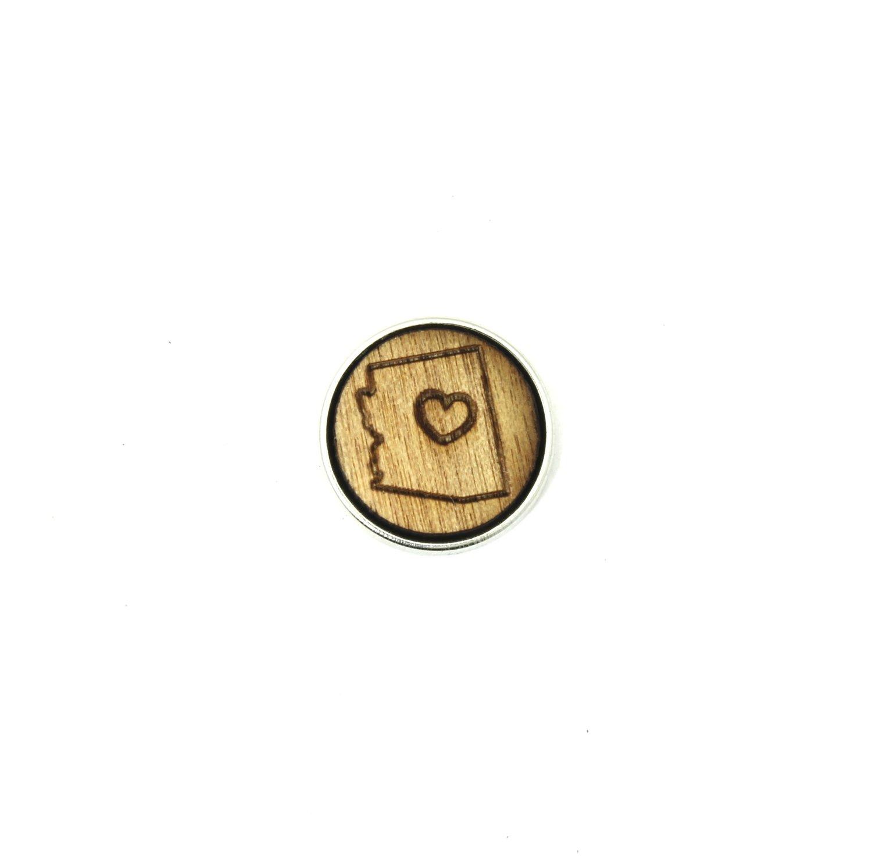 ♡ - Arizona - Diffusing Locket Wood Snap