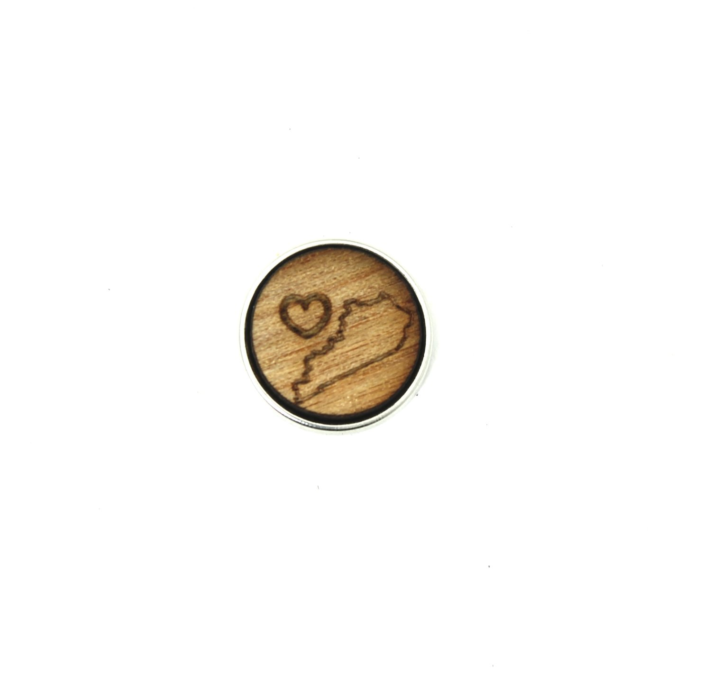 ♡ - Kentucky - Diffusing Locket Wood Snap