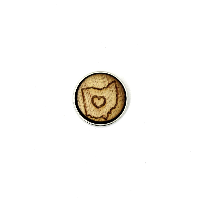 ♡ - Ohio - Diffusing Locket Wood Snap