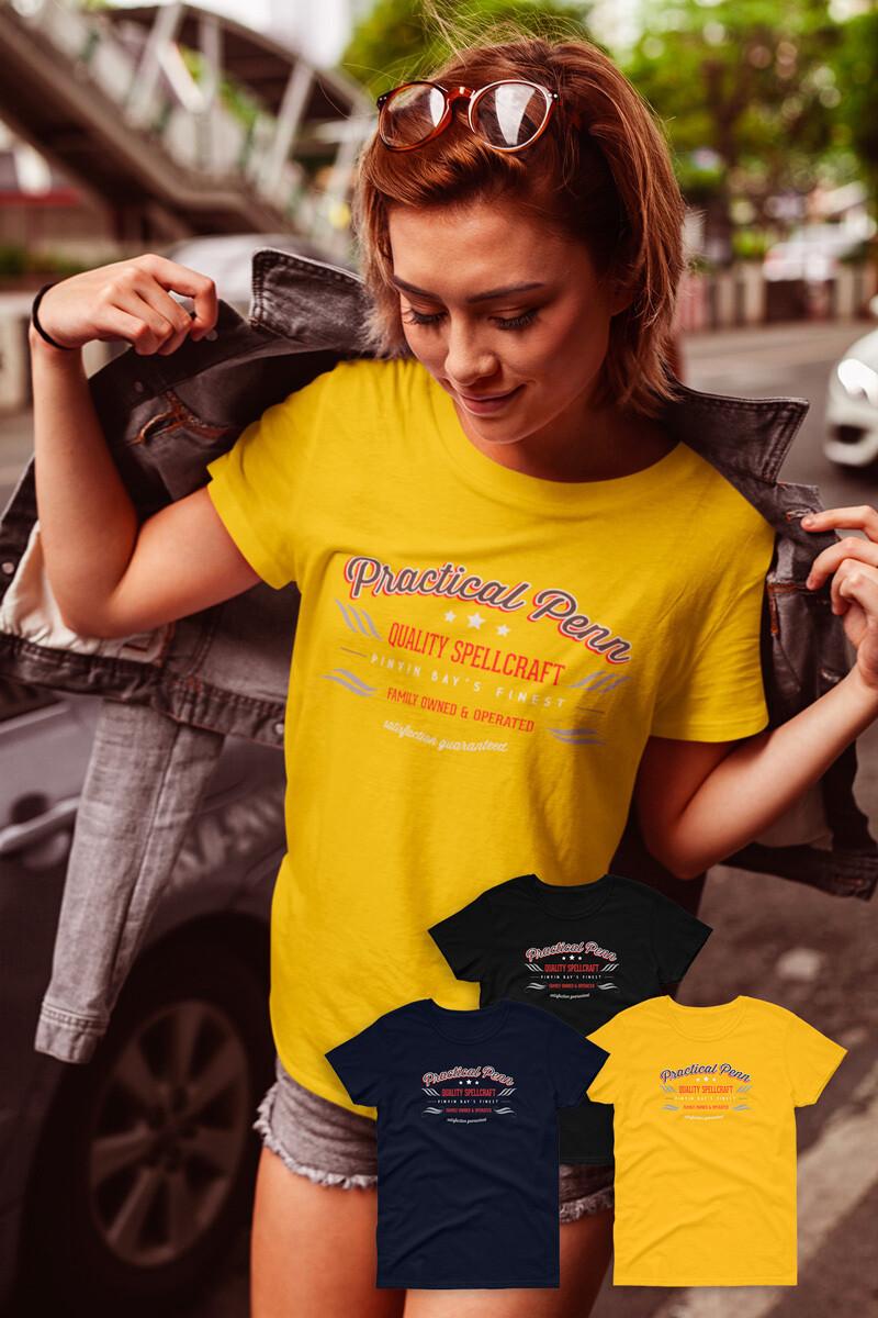 FUNDRAISER Practical Penn Women's short sleeve t-shirt