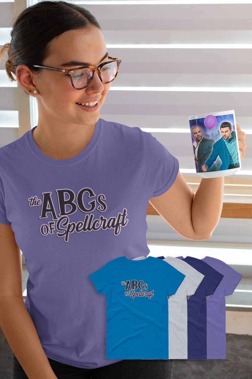 FUNDRAISER ABCs of Spellcraft Women's short sleeve t-shirt