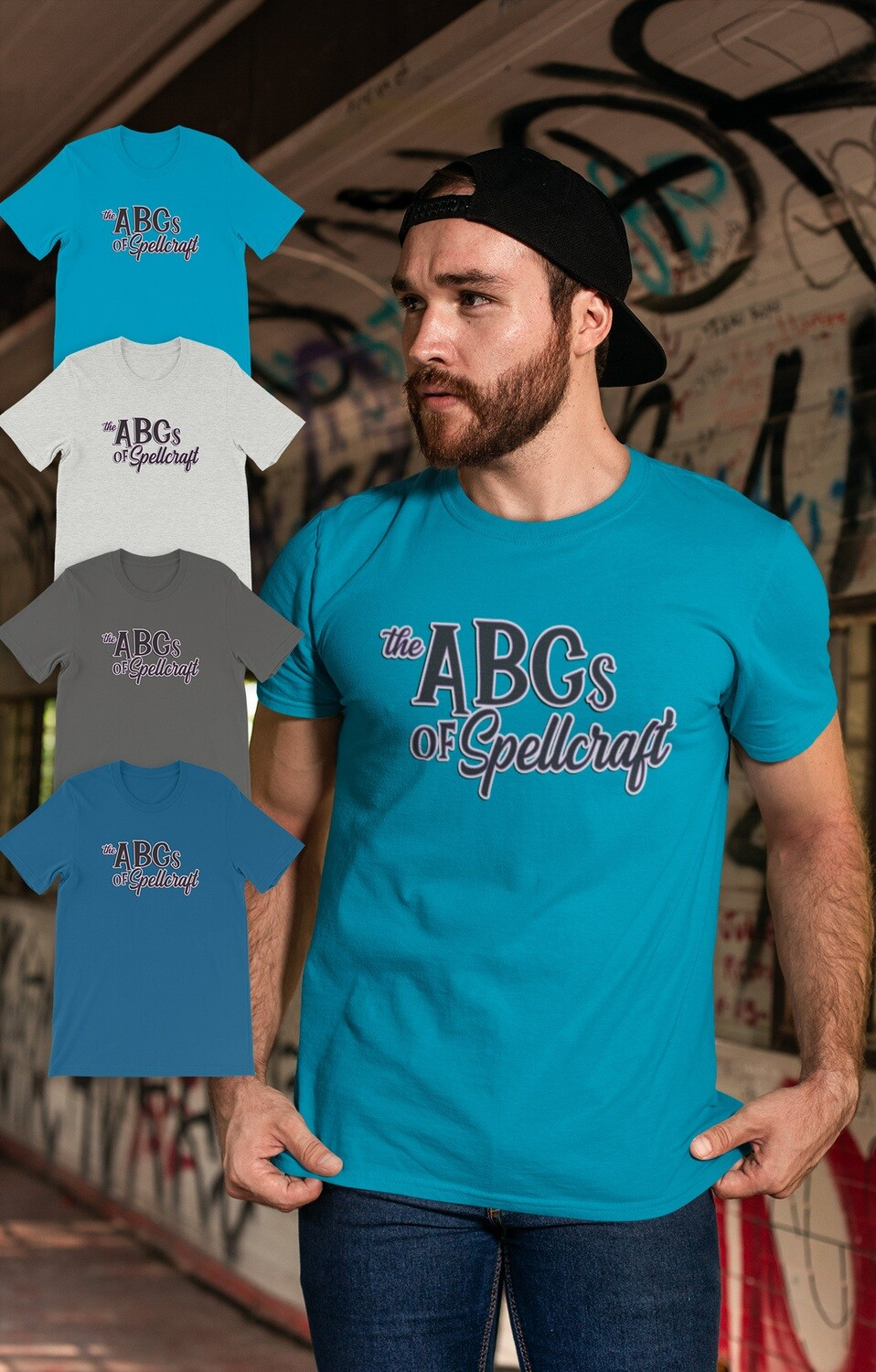FUNDRAISER ABCs of Spellcraft Short-Sleeve Unisex T-Shirt