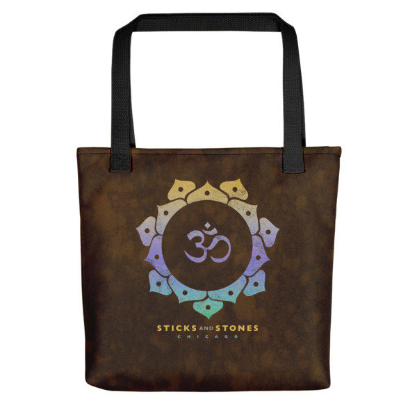 Sticks and Stones RUST Tote Bag