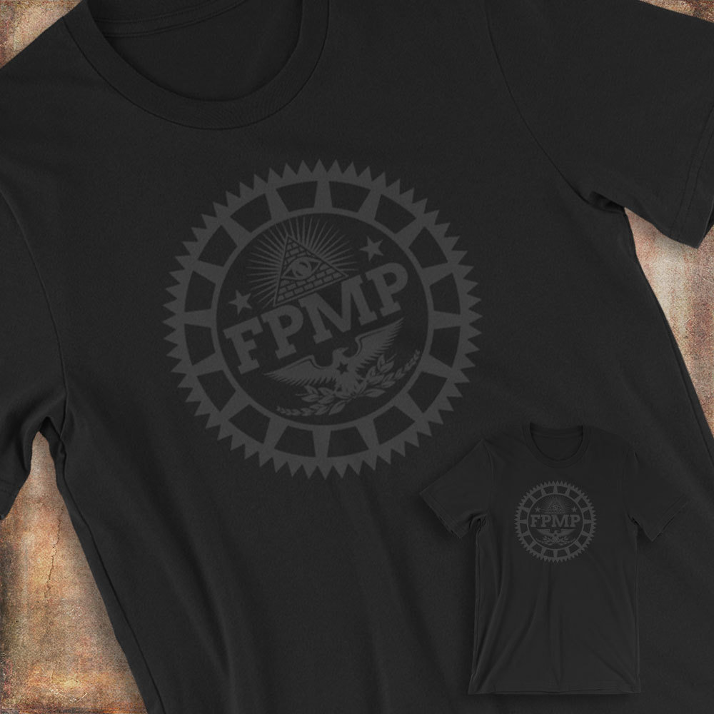 Black on Black FPMP Short-Sleeve Unisex T-Shirt