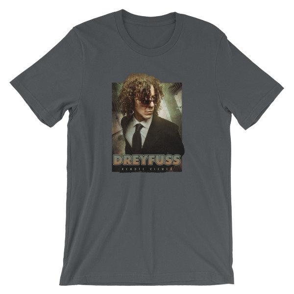 Dreyfuss Remote Viewer Unisex short sleeve t-shirt