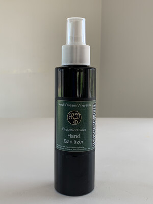 Alcohol Based Hand Sanitizer - 4 oz. Spray