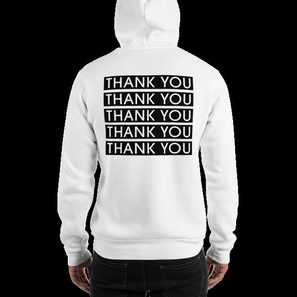 """""""THANK YOU"""" Hooded Sweatshirt"""