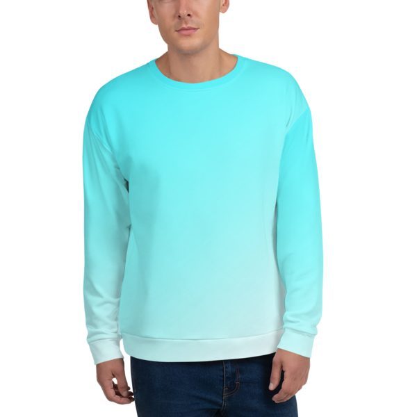 """CYAN"" FADED Sweatshirt"