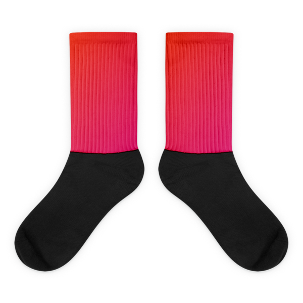 """SUNSET"" Faded Socks"