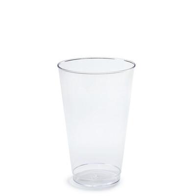 14 oz Clear Plastic Tumblers - 400 pcs -
