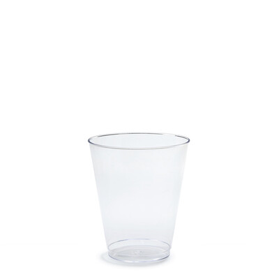 10 oz Clear Plastic Tumblers - 600 pcs -