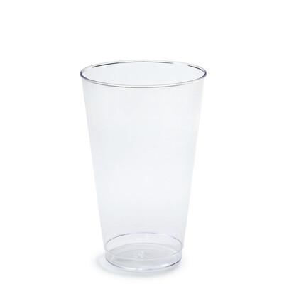 16 oz Clear Plastic Tumblers - 400 pcs -