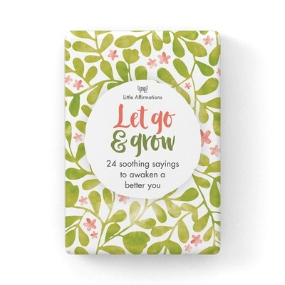 心靈信息卡 - Let Go and Grow