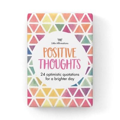 心靈信息卡 - Positive Thoughts