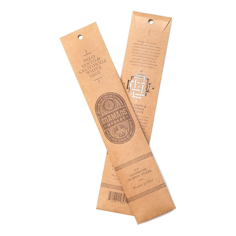 Palo Santo and California White Sage Incense Sticks 聖木及白鼠草長香
