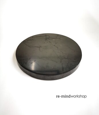 次石墨板 (圓型) Shungite Plate (Round)