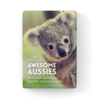 心靈信息卡 - 奇妙動物 Awesome Aussies
