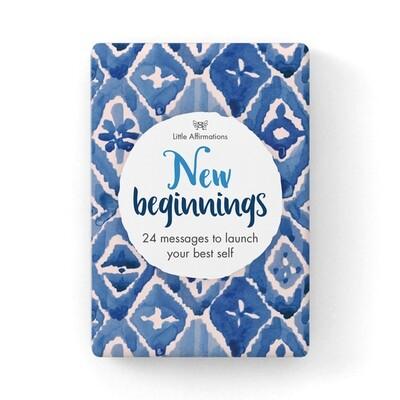 心靈信息卡 - 新開始 New Beginnings