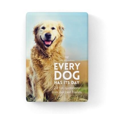 心靈信息卡 - 狗狗的智慧 Every Dog Has It's Day