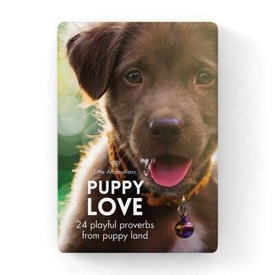 心靈信息卡 - 小狗 Puppy Love