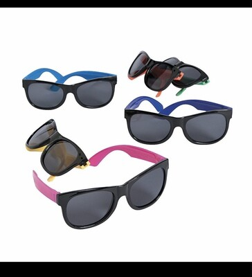 Color Run Sunglass & White Mask Pack