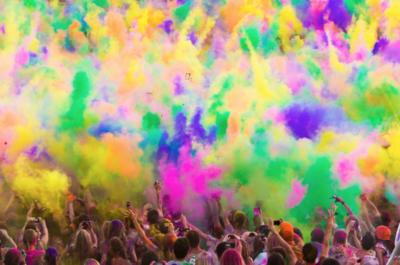 Virtual Color Run Registration (includes 3 Color Packs) 2020