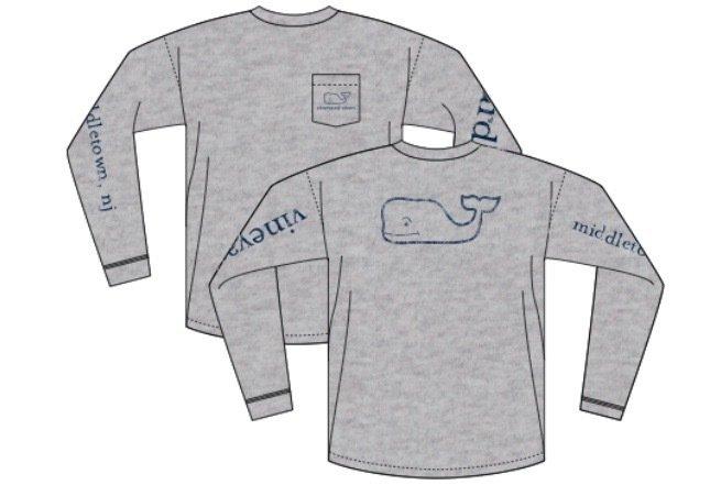 Navesink Vineyard Vines L/S Middletown T-shirt