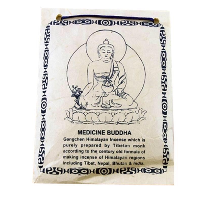 Encens tibétain poudre Buddha de la médecine